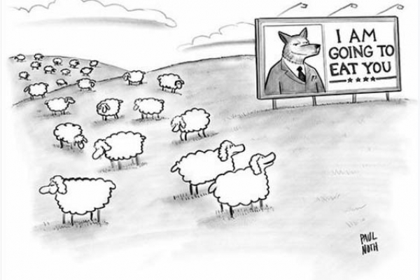 Blind voters bound by habit
